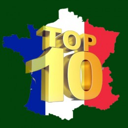 TOP 10 IN FRANCE