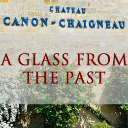 A GLASS FROM THE PAST