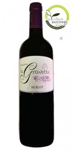 Domaine La Gravette Merlot 2014