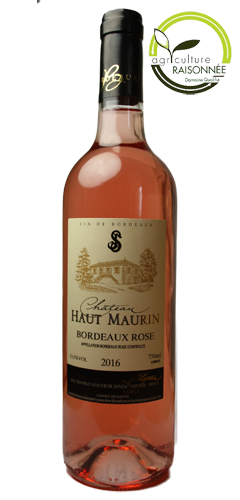 Château Haut Maurin Rose 2017